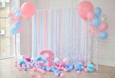 Birthday Backdrops Balloons Backgrounds Event Backdrops HJ04129