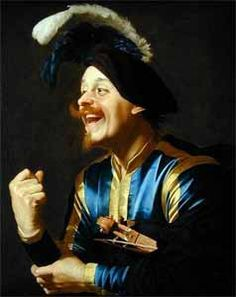 'The Laughing Violinist' ou 'The Merry Musician' de Gerrit Van Honthorst