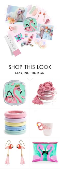 """""""Flamingo"""" by ms-rockpide ❤ liked on Polyvore featuring beauty, L. Erickson, Nach, Sunnylife and flamingo"""