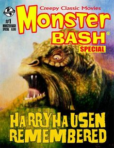 One of our favourite monster magazines is the American publication Monster Bash, which began in 2002 as a spin-off from the popular Monster Bash International Classic Monster Movie Conference and Film Festival which celebrates classic horror and sci-fi films from the silents through to the 50's!