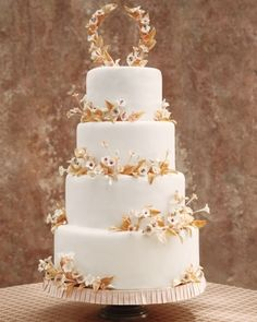 Coconut cake adorned with sugar cherry-blossoms Cake for hubby #cupcake #sweetstuff