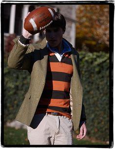 Preppy Footballer