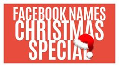 THE BEST FACEBOOK NAMES ★ CHRISTMAS SPECIAL ★ Carl Bradbury