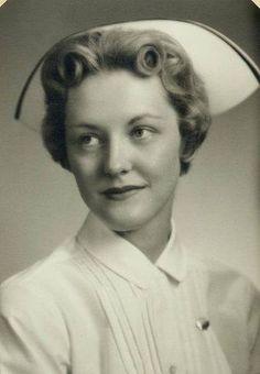 When nurses wore caps.