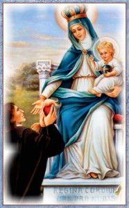 A Virgem Maria ama os seus consagrados.