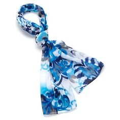 Antthony Deauville Chiffon Scarf at HSN.com.