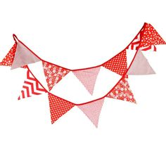 G2PLUS Lace Bunting 10.8 Feet Vintage Flag Banner Jute Pennant Garlands...
