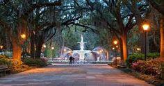 Savannah OLD CITY, Georgia - USA