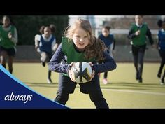 New '#LikeAGirl' Ad Inspires Girls To Play Any Sport, Not Yield To Social Stress - DesignTAXI.com
