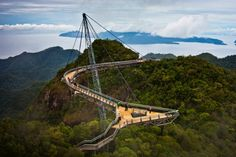 10 Marvelous Bridges From All Over The World - Langkawi Sky Bridge, Malaysia