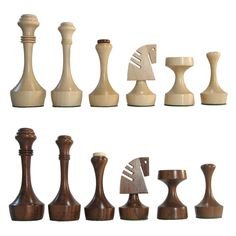 The Fabiana design from Noj industries is an excellent ultramodern design for chess pieces. Diy Chess Set, Modern Chess Set, Chess Set Unique, Chess Sets, Diy Wooden Projects, Woodworking Projects Diy, Lathe Projects, Chess Pieces, Game Pieces