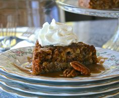 Best Old-Fashioned Nooks 'n Crannies Apple Cake with Pecans & 5-Minute Homemade Caramel Sauce