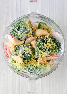 Ensalada de brócoli y rabanitos