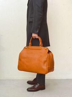 ボストンバッグ 横型男性モデル