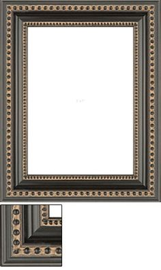 This black picture frame is accented by double embossed beads along the inner and outer step, giving any photo or art an eclectic look and feel. Black Picture Frames, Photo Canvas, Cotton Canvas, Photo Gifts, Canvas Prints, Beads, Mirror, Chic, Pictures