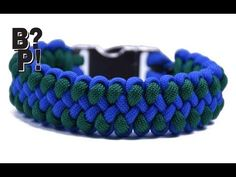"Make the ""Dragon Claw"" Paracord Survival Bracelet - BoredParacord.com - YouTube"