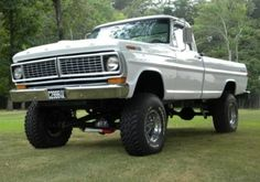 Classic Ford Trucks, Ford 4x4, Ford Pickup Trucks, 4x4 Trucks, Custom Trucks, Lifted Trucks, Cool Trucks, Classic Cars, Old Fords