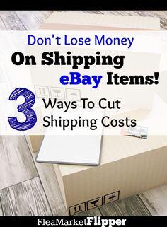 NEVER lose money on shipping eBay items! Ebay Selling Tips, Ebay Tips, Selling Online, Online Sales, Ways To Save Money, Money Saving Tips, How To Make Money, Making Money On Ebay, Ebay Office