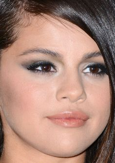 Close-up of Selena Gomez at the 2014 LACMA Art   Film Gala.