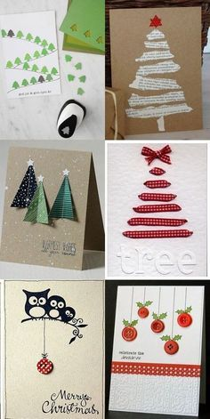 Ideas For Diy Christmas Cards Handmade Kids Christmas Cards Handmade Kids, Homemade Christmas Cards, Homemade Cards, Christmas Holidays, Christmas Decorations, Christmas Projects, Winter Holidays, Christmas Ideas, Holiday Crafts