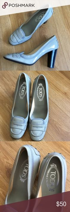 Tod's women Pumps heels size 38.5 Tod's women Pumps in size 38.5 please view photos some stain on shoe Tod's Shoes