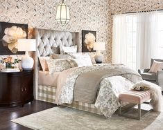 Get gorgeous new drapery and window decor at Ballard Designs today! Porch Furniture, Bedroom Furniture, Furniture Stores, Space Furniture, Home Decor Bedroom, Modern Bedroom, Bedroom Ideas, Trendy Bedroom, Winter Bedroom