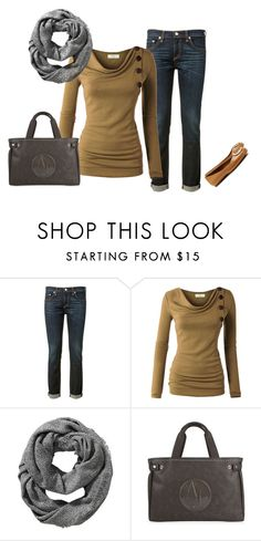 """Autumn 9."" by szunda on Polyvore featuring rag & bone, Old Navy, Giorgio Armani and Tory Burch"