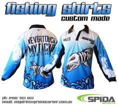 Custom fishing shirts for your team or anglers club! http://promocorner.com.au/sublimated-fishing-shirts/