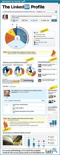 Infographics The LinkedIn Profile