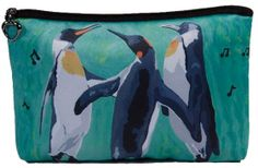 Penguin Cosmetic Bag by Salvador Kitti  On Sale by SalvadorKitti, $14.98