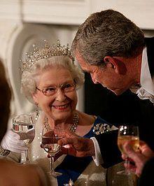 Google Image Result for http://upload.wikimedia.org/wikipedia/commons/thumb/6/6e/George_W._Bush_toasts_Elizabeth_II_2007.jpg/220px-George_W._Bush_toasts_Elizabeth_II_2007.jpg