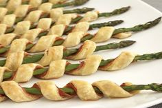 from epicurious prosciutto asparagus spirals prosciutto asparagus ...