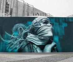 JDL street art alias Judith de Leeuw is a 24 y/o street artist and is born and raised in Amsterdam, NL. Murals Street Art, Street Art Graffiti, Mural Art, Wall Art, Street Art Amsterdam, Dope Cartoon Art, Best Photo Background, Amazing Street Art, Best Street Art