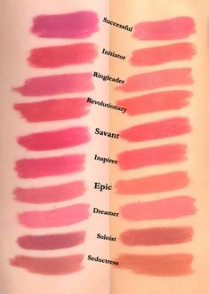 Lip Swatches, Makeup To Buy, Lip Colour, Pale Skin, Coral Pink, Makeup Collection, Rose Buds, Makeup Yourself, Lipstick