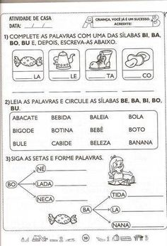 Portuguese Lessons, Teaching English, Professor, Writing, Reading, Books, Google, Letter B Activities, Language Activities
