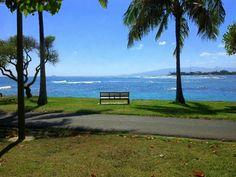 Cruising on Magic Island-Honolulu, Hawaii
