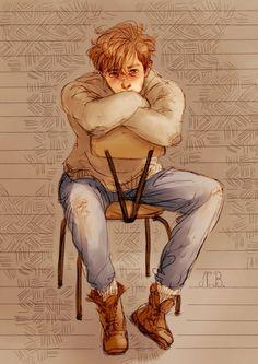 Remus Lupin - Moony by Natello's Art: