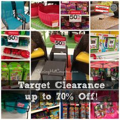 Target Clearance Deals (70% off TONS of Items, 50% off Patio, Toys and More!)
