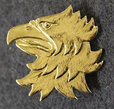 Finnish Coastal Jaeger beret badge.