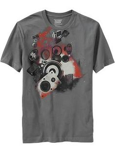 Men's Music & Speakers Graphic Tees | Old Navy