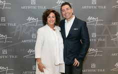 """Nancy Epstein, Artisitc Tile CEO and founder says, """"We've had clients coming into our NYC flagship showroom with their Michael Aram home accessories and asking if we have tile to match for years. I am so proud and honored to be able to now say that we do."""" Read on: http://editoratlarge.com/articles/6425/michael-aram-shares-look-into-his-artistic-tile-collection"""