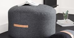¿Te gusta el fieltro gris para decorar? Entonces te gustará hacer este puf de estilo nórdico para tu hogar. ¡Paso a paso!