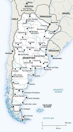Vector Map Of Swaziland Political - Argentina map pdf
