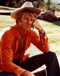 Robert Redford can wear a cowboy hat with the best of them.