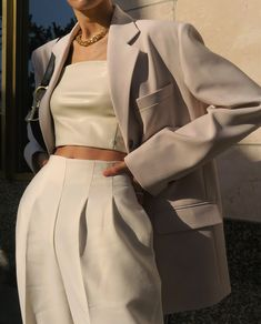Beige palette ☁️ By Look Fashion, High Fashion, Fashion Outfits, Womens Fashion, Fashion Trends, Fashion Styles, Fashion Clothes, Fashion Ideas, Fashion Tips