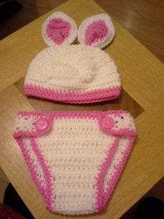 Easter bunny hat and diaper cover Bunny Hat, Easter Bunny, My Design, Beanie, Hats, Cover, Hat, Beanies, Slipcovers