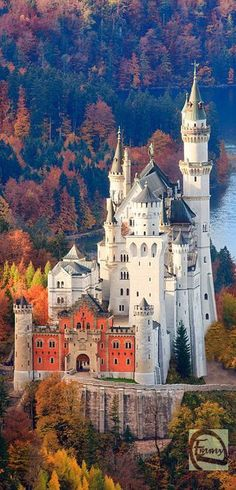 "Castle Neuschwanstein, Germany Today Neuschwanstein is one of the most popular of all the palaces and castles in Europe. Every year 1.3 million people visit ""the castle of the fairy-tale king"". In the summer around 6,000 visitors a day stream through rooms that were intended for a single inhabitant."