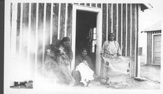 Arapaho Women: Working at Tanning Hides