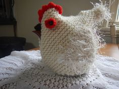 Chicken Tea Cosy. One Cup Tea Pot (small) by WinterSunflower45 on Etsy                                                                                                                                                                                 More