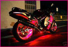 36 LED Super Bright Sport Bike LED Kit Body Lights